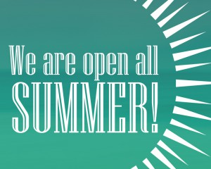 We are open the whole summer with adjusted production times! - Print Unlimited