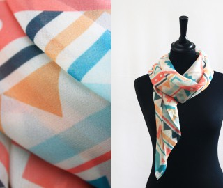 Easy Care Shawl - 1702 Polyester Marbella - Print Unlimited