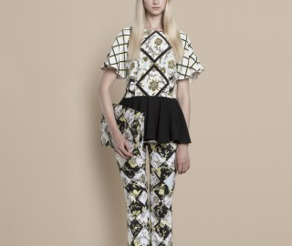 Sage & Ivy outfit SS14  - Print Unlimited
