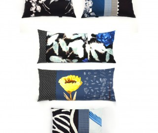 Blue Cushions - Print Unlimited