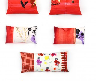 Red Cushions - Print Unlimited