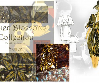 Broken Blossoms Collection, Fall Winter 2010/11 - Print Unlimited