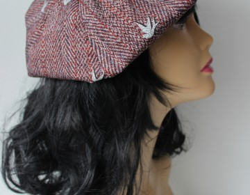 Rosalie Rovers Hat and Clutch - House of U