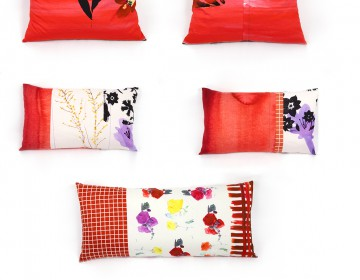 Red Cushions - House of U