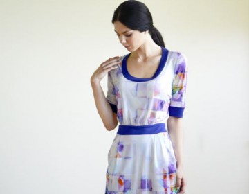 Silk Jersey dress - House of U